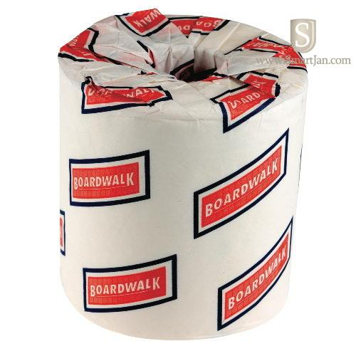 Bwk6145 boardwalk bath tissue 500 sheets per roll boardwalk smartjan Boardwalk 6145 bathroom tissue