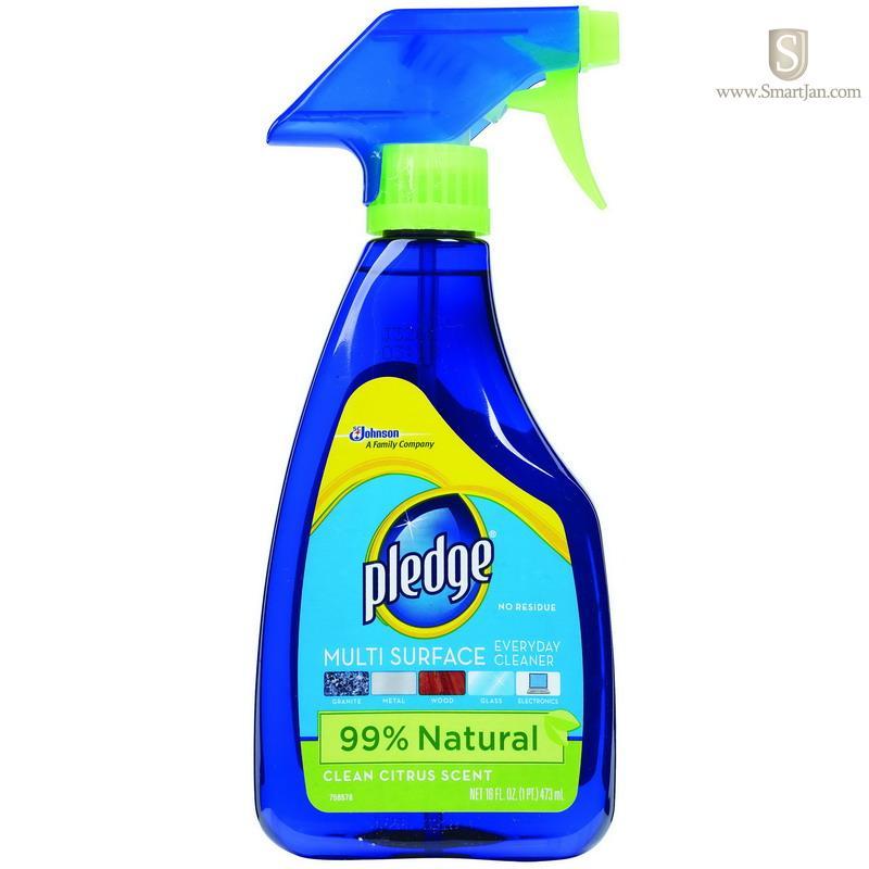 Dvocb703123ct Diversey Pledge Multi Surface Cleaner Clean Citrus Scent 16 Oz on Pledge Aerosol Lemon Spray