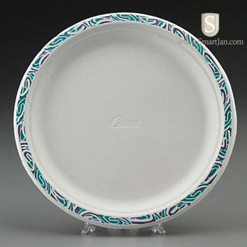 HUHTAMAKI Chinet® Premium Strength Paper Platter & HUH PORCH | HUHTAMAKI Chinet® Premium Strength Paper Plate - 10.5 ...