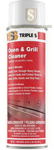 Sss 21023 Sss Oven Amp Grill Cleaner 20 Oz Triple S