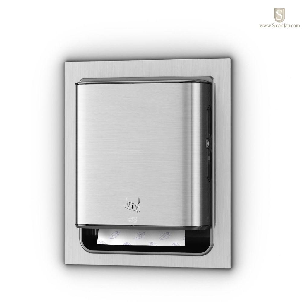 Sca 461023 Tork Matic 174 Hand Towel Dispenser In Wall