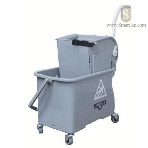 Ungcomsg Unger Gray Mop Bucket With Wringer 4 Gallon