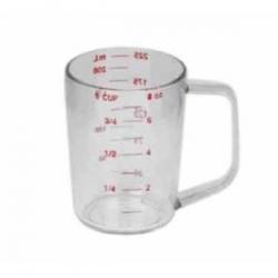 CON 9808 | Continental Plastic Dry Measuring Cup - 8 Oz