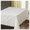 "HOFFMASTER Tissue/Poly Tablecovers - 54"" x 54"", White"